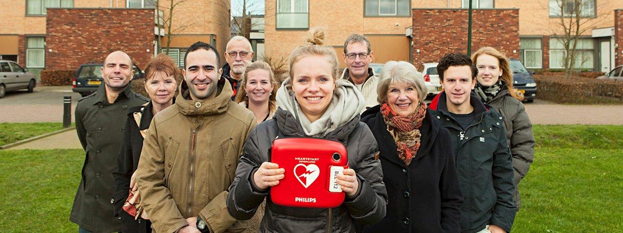 Crowdfund een AED in jouw buurt