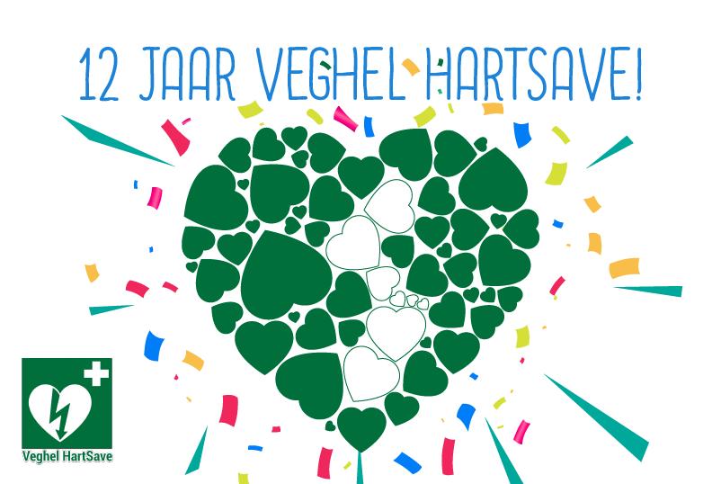 Veghel HartSave bestaat alweer 12 jaar!