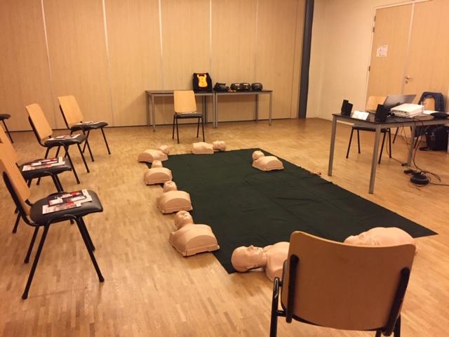 Op dinsdag 12 maart aanstaande zijn er nog enkele plaatsen vrij op de Basiscursus reanimatie- en AED.