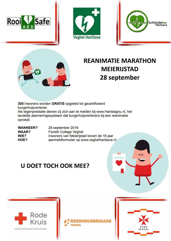 Reanimatie-Marathon Meierijstad